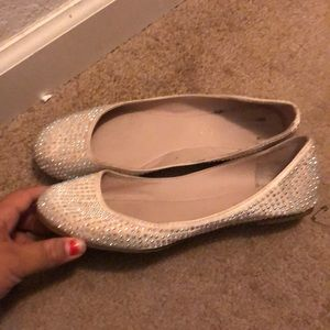 NWOT bakers bedazzled flats